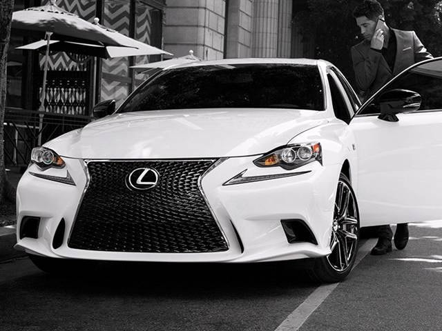 2015 Lexus IS 250 Crafted Line Sedan 4D Used Car Prices
