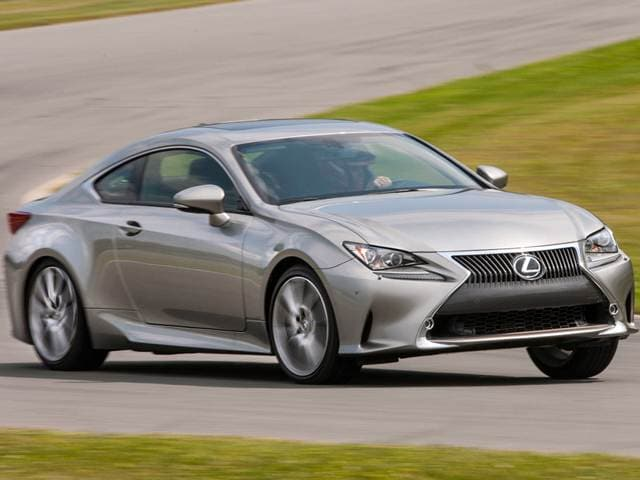 2015 Lexus RC 350 Coupe 2D Used Car Prices