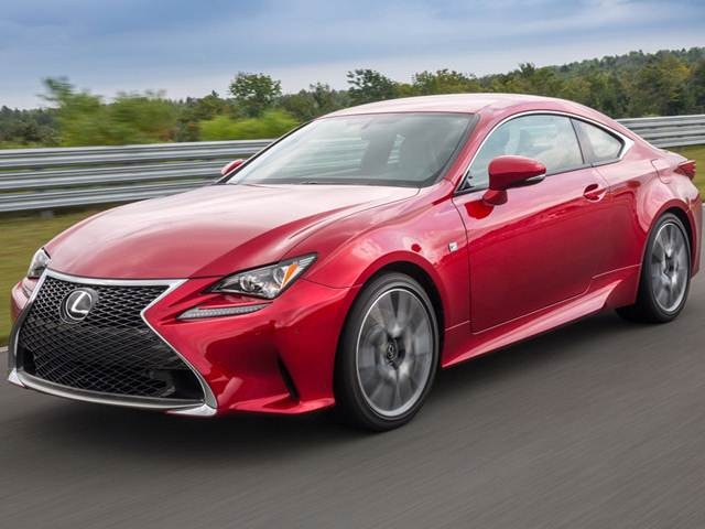 Top Consumer Rated Coupes of 2015 - 2015 Lexus RC