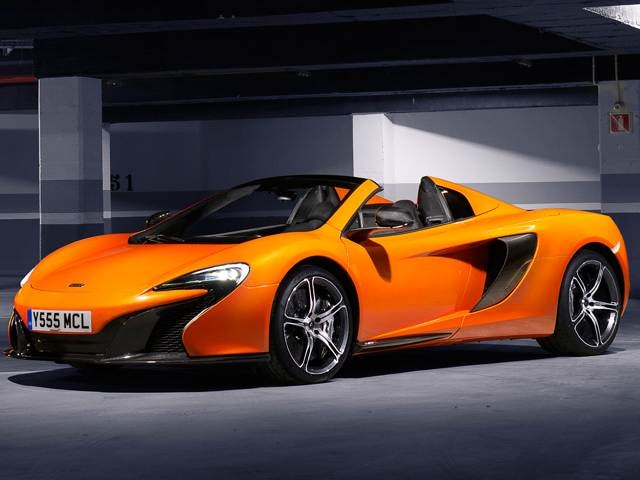 Highest Horsepower Convertibles of 2015 - 2015 McLaren 650S