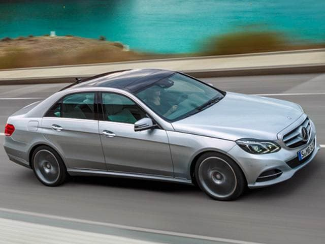 Most Fuel Efficient Luxury Vehicles of 2015 - 2015 Mercedes-Benz E-Class