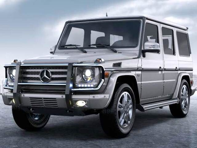 Highest Horsepower SUVs of 2015 - 2015 Mercedes-Benz G-Class