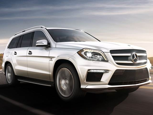 Highest Horsepower Crossovers of 2015 - 2015 Mercedes-Benz GL-Class