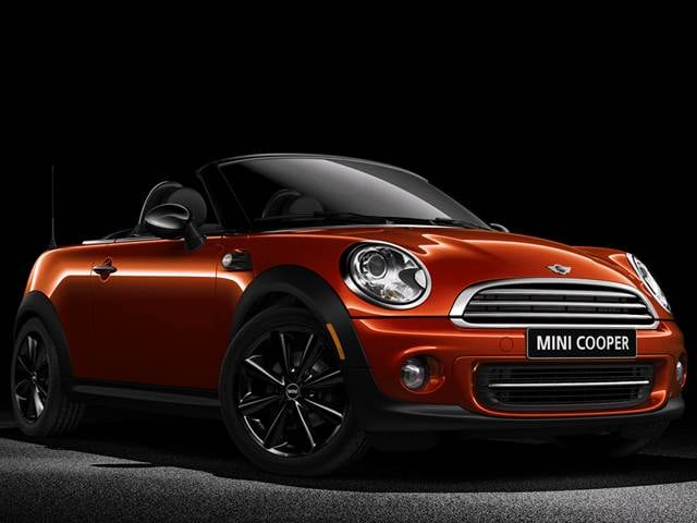 Most Fuel Efficient Convertibles of 2015 - 2015 MINI Roadster