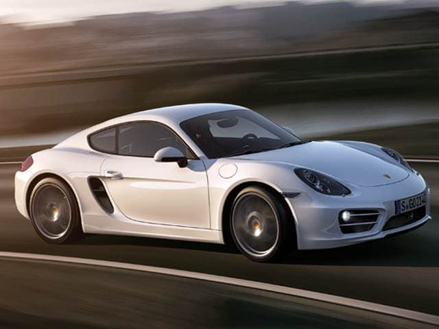 Top Consumer Rated Luxury Vehicles of 2015 - 2015 Porsche Cayman