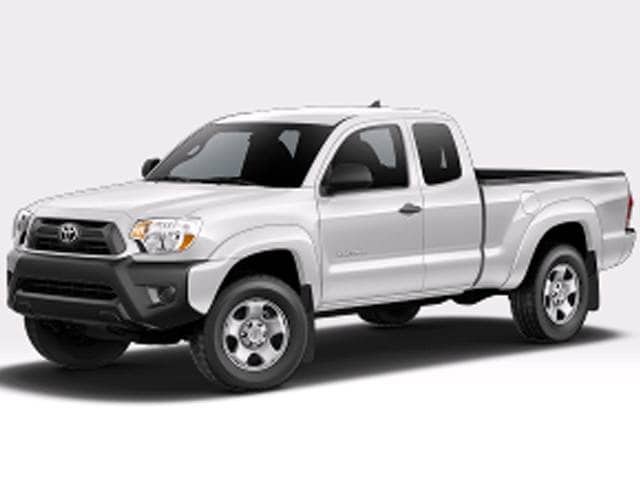 Top Consumer Rated Trucks of 2015 - 2015 Toyota Tacoma Access Cab