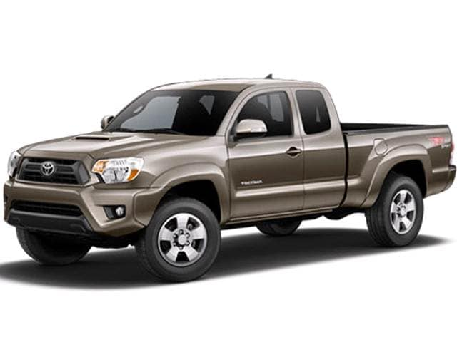 Best Safety Rated Trucks of 2015 - 2015 Toyota Tacoma Access Cab