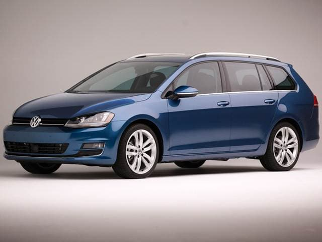 Most Fuel Efficient Wagons of 2015 - 2015 Volkswagen Golf SportWagen