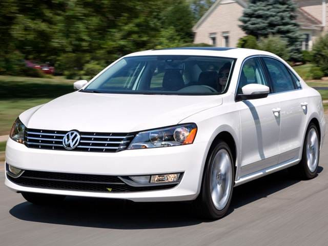 Best Safety Rated Sedans of 2015 - 2015 Volkswagen Passat