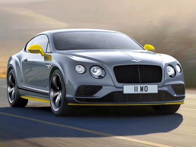 Top Consumer Rated Coupes of 2016 - 2016 Bentley Continental