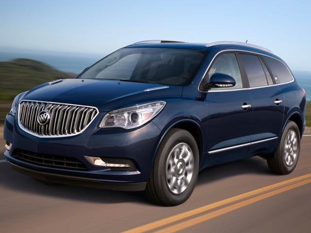 Most Popular Luxury Vehicles of 2016 - 2016 Buick Enclave