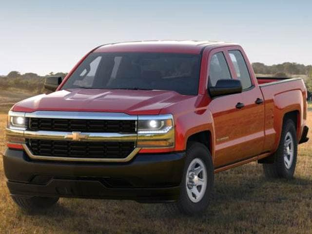 Best Safety Rated Trucks of 2016 - 2016 Chevrolet Silverado 1500 Double Cab
