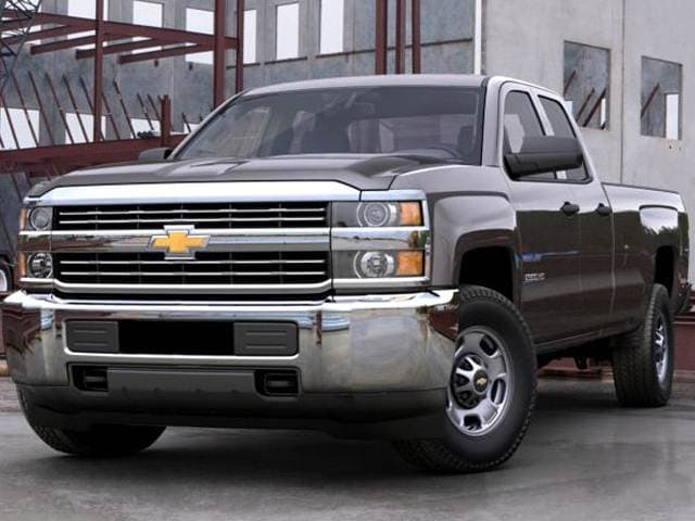 Best Safety Rated Trucks of 2016 - 2016 Chevrolet Silverado 2500 HD Double Cab
