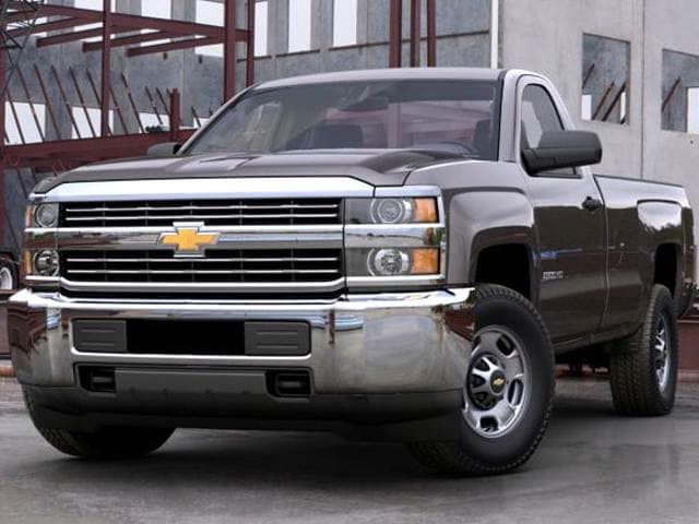 Best Safety Rated Trucks of 2016 - 2016 Chevrolet Silverado 2500 HD Regular Cab