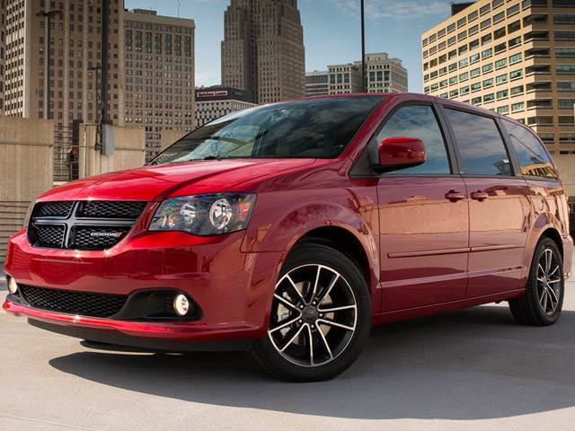 Best Safety Rated Vans/Minivans of 2016 - 2016 Dodge Grand Caravan Passenger