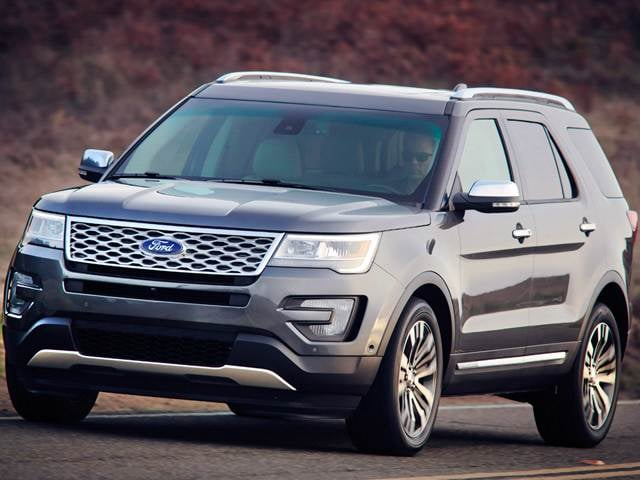 2016 Ford Explorer Sport Utility 4D Used Car Prices