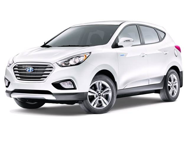 Most Fuel Efficient Crossovers of 2016 - 2016 Hyundai Tucson Fuel Cell
