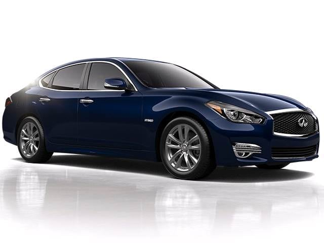 Best Safety Rated Sedans of 2016 - 2016 INFINITI Q70