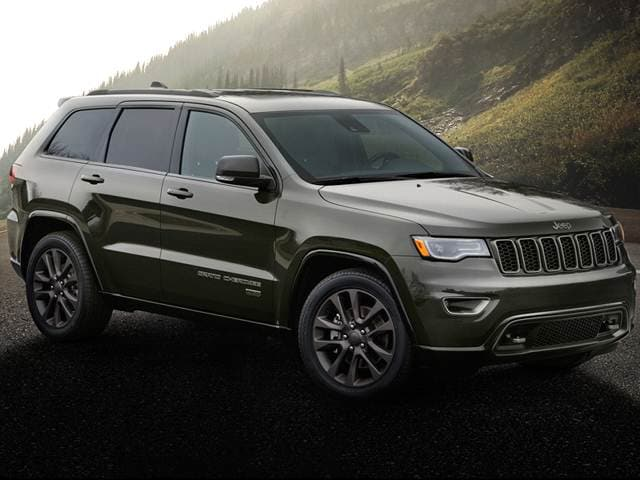 2016 Jeep Grand Cherokee 75th Anniversary Edition Sport Utility 4d Used Car Prices Kelley Blue Book