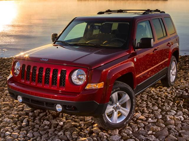 2016 Jeep Patriot Sport Red