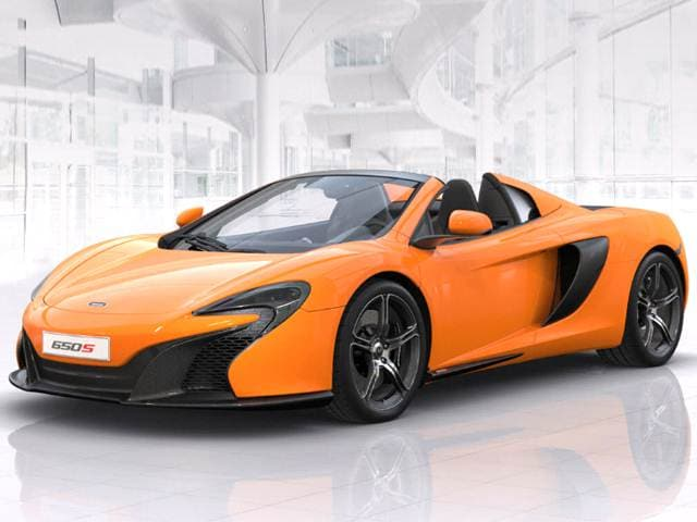 Highest Horsepower Luxury Vehicles of 2016 - 2016 McLaren 650S
