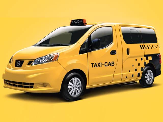 Most Fuel Efficient Vans/Minivans of 2016 - 2016 Nissan NV200 Taxi