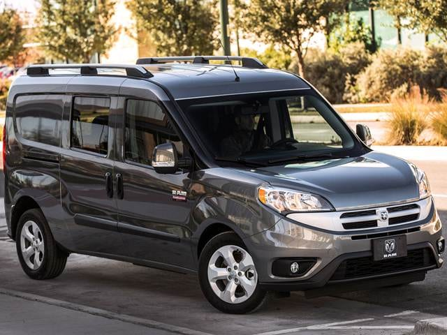 Most Fuel Efficient Vans/Minivans of 2016 - 2016 Ram ProMaster City