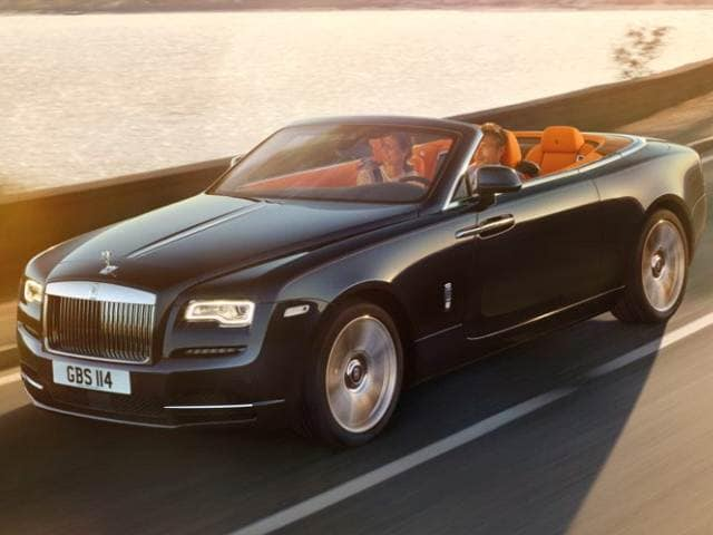 Highest Horsepower Convertibles of 2016 - 2016 Rolls-Royce Dawn