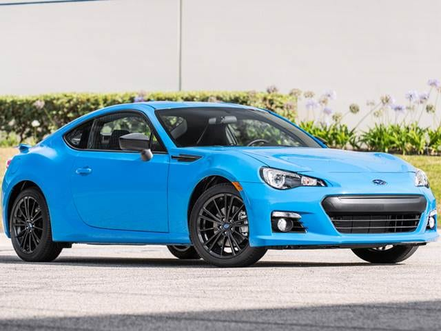 Best Safety Rated Coupes of 2016 - 2016 Subaru BRZ