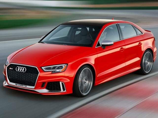 Best Safety Rated Luxury Vehicles of 2017 - 2017 Audi RS 3