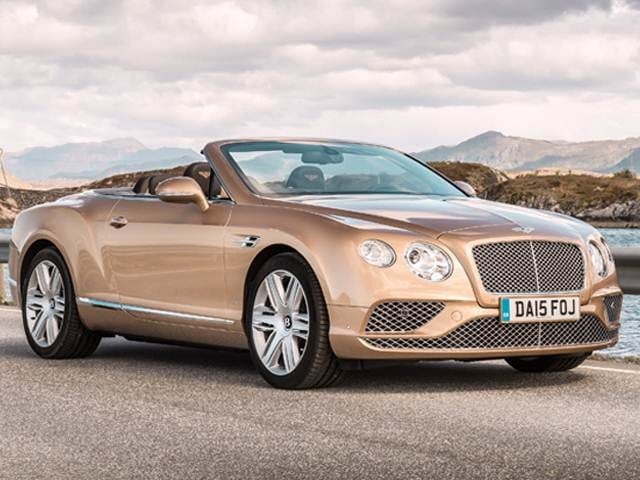Top Consumer Rated Convertibles of 2017 - 2017 Bentley Continental