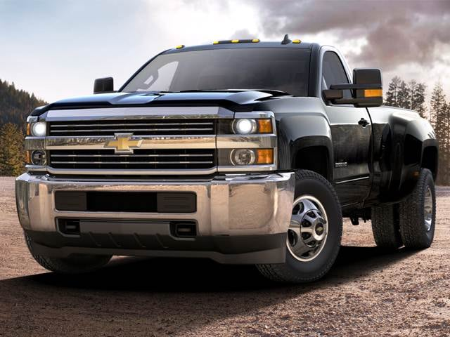 Highest Horsepower Trucks of 2017 - 2017 Chevrolet Silverado 3500 HD Regular Cab