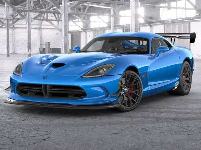 Dodge Viper 2017 Blue >> 2017 Dodge Viper Acr Coupe 2d Used Car Prices Kelley Blue Book