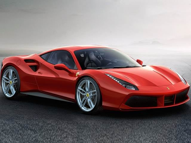 Highest Horsepower Luxury Vehicles of 2017 - 2017 Ferrari 488 GTB