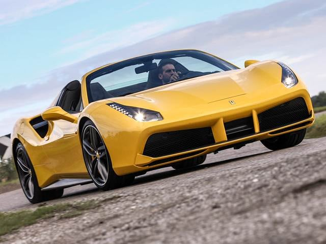 Highest Horsepower Coupes of 2017 - 2017 Ferrari 488 Spider