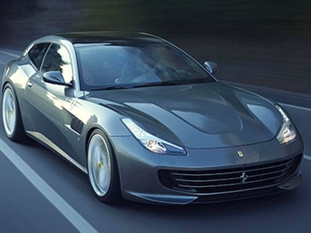 Highest Horsepower Luxury Vehicles of 2017 - 2017 Ferrari GTC4Lusso