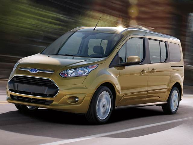 Most Fuel Efficient Vans/Minivans of 2017 - 2017 Ford Transit Connect Passenger