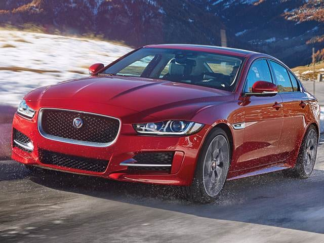 Most Fuel Efficient Luxury Vehicles of 2017 - 2017 Jaguar XE