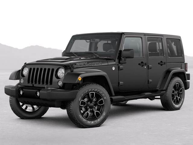 New Car 2017 Jeep Wrangler Unlimited Smoky Mountain