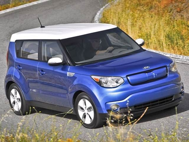 Most Fuel Efficient Wagons of 2017 - 2017 Kia Soul EV