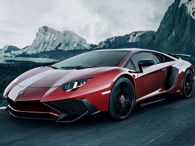 Highest Horsepower Coupes of 2017 - 2017 Lamborghini Aventador