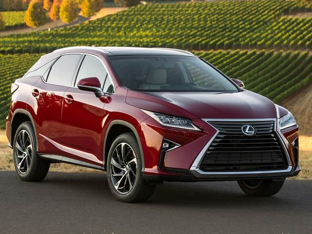 Best Safety Rated Suvs Of 2017 Lexus Rx