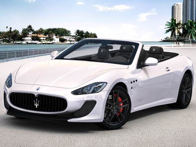 2017 Maserati Granturismo Mc Centennial Convertible 2d Used Car Prices Kelley Blue Book
