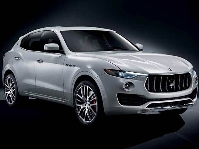 Highest Horsepower SUVs of 2017 - 2017 Maserati Levante