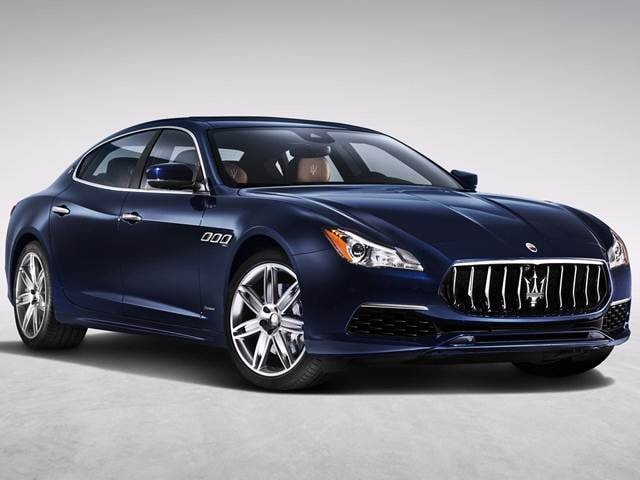 Highest Horsepower Sedans of 2017 - 2017 Maserati Quattroporte