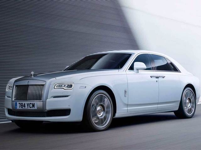 Highest Horsepower Sedans of 2017 - 2017 Rolls-Royce Ghost