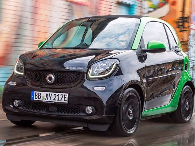 Most Fuel Efficient Electric Cars of 2017 - 2017 smart fortwo electric drive