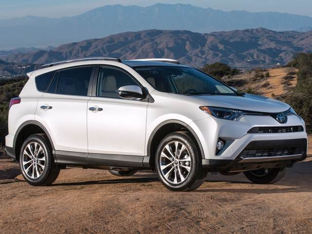 Used 2017 Toyota Rav4 Le Sport Utility 4d Pricing Kelley Blue Book