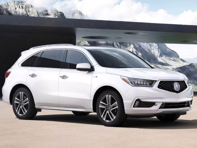 Most Popular Luxury Vehicles of 2018 - 2018 Acura MDX Sport Hybrid