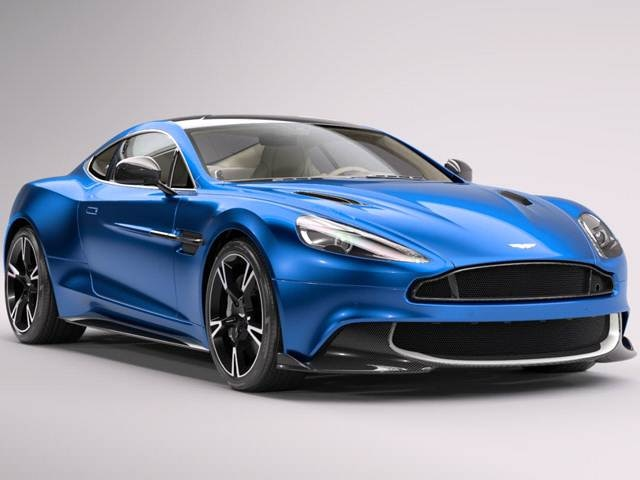 Highest Horsepower Luxury Vehicles of 2018 - 2018 Aston Martin Vanquish S
